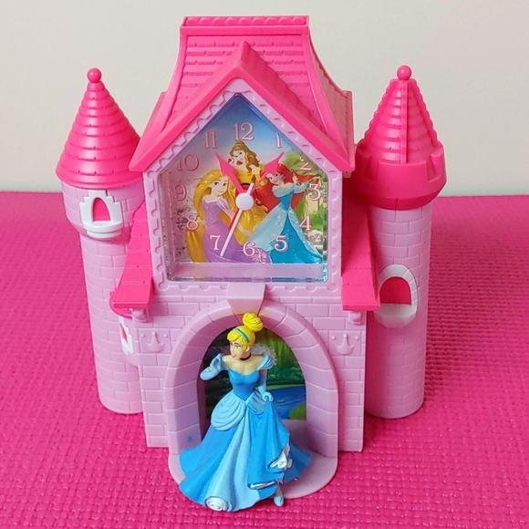 2/$55💟RARE💟Princess Cinderella Alarm Clock/Bank